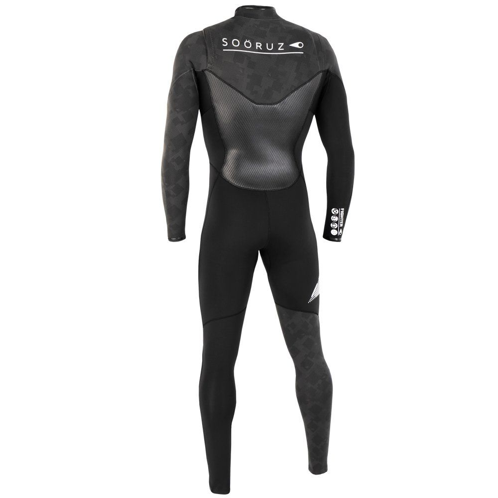 Soöruz Fullsuit 5/4/3 BZ FIGHTER Black 2019, Kitejunkie