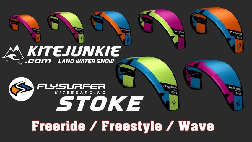Flysurfer Stoke im Freestyle Bundle